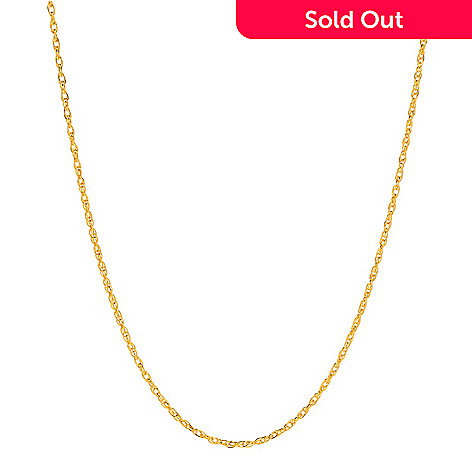 eec4fa693a606 Lambert Cheng, 24K Gold, Choice of Length, Twisted Singapore, Chain Necklace