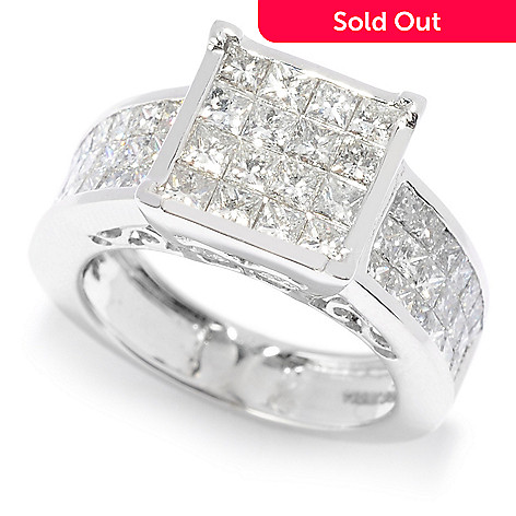164 800 Diamond Treasures Elite 14k White Gold 2 70ctw Dream