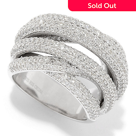 d68802b6a 165-516- Victoria Wieck for Brilliante® 3.40 DEW Simulated Diamond 7-Row
