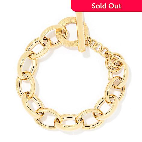 166 071 Gold Of Distinction 14k 8 5 Toggle Bracelet 25 2