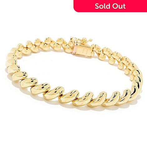 170 928 Stefano Oro 14k Gold 7 5 San Marco Bracelet 13 39 Grams