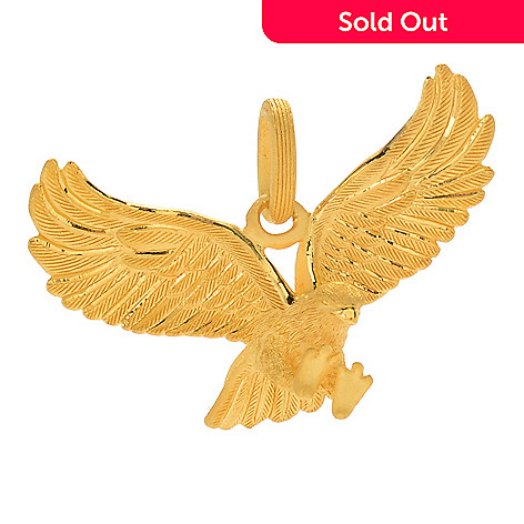 Lambert cheng 24k gold eagle pendant evine 173 615 lambert cheng 24k gold eagle pendant aloadofball Gallery