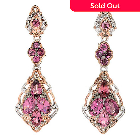 174 929 Gems En Vogue Final Cut 1 25 Gemstone Drop Earrings