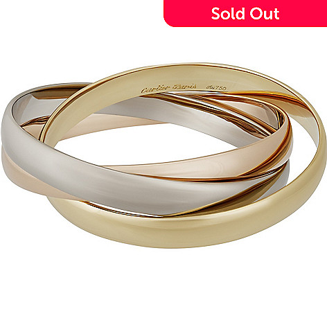 15873554f006c Cartier 18K Tri-Color Gold 7