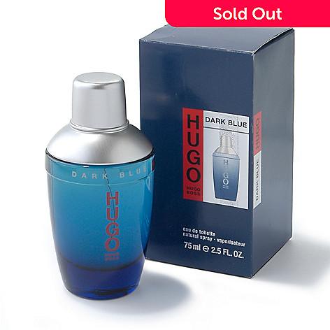 8cc399284 Hugo Boss Men's Hugo Dark Blue Eau de Toilette Spray - 2.5 oz - EVINE