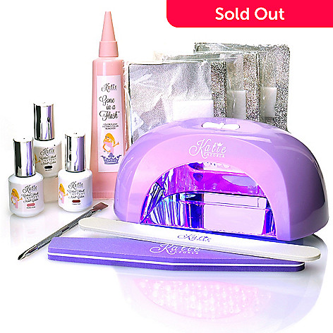#HollywoodTrends™ Color Flash Nine-Piece 60-Second Gel Nail Color LED  System by Katie Cazorla