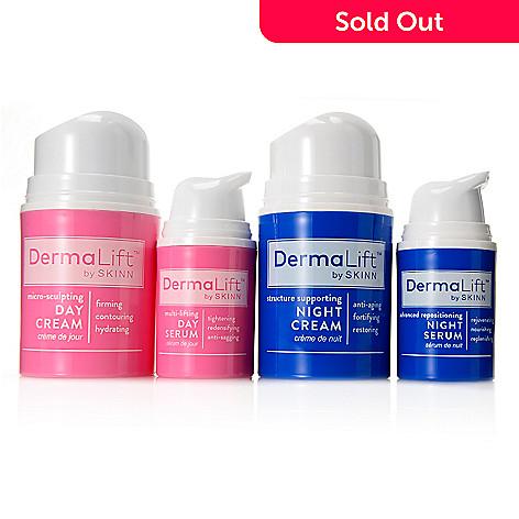 afb501fddda 306-519- Skinn Cosmetics Four-Piece DermaLift™ Day & Night Treatment  Skincare