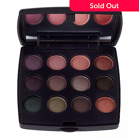 Coastal Scents 12 Color Travel Eye Shadow Palette Evine