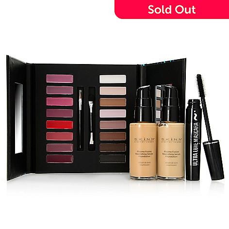 new concept b3eab ec84d 307-714- Skinn Cosmetics Four-Piece Fusion Foundation, Pro Palette   Mascara