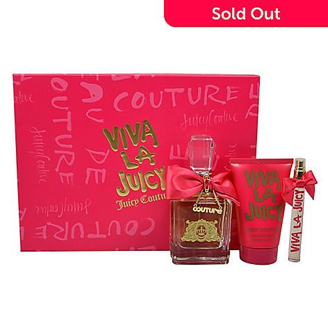 Viva La Juicy by Juicy Couture Eau de Parfum Three-Piece Spray ... 0ba3ceeaa416