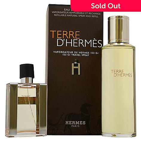 Terre Dhermes By Hermes 2 Piece Eau De Toilette Spray Refill Gift