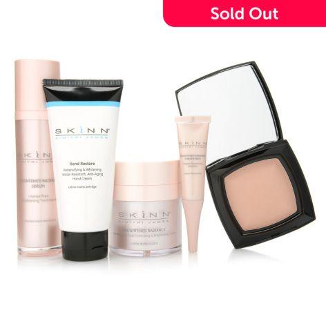 Skinn Cosmetics Five-Piece Youthful Radiance Brightening Skincare Set