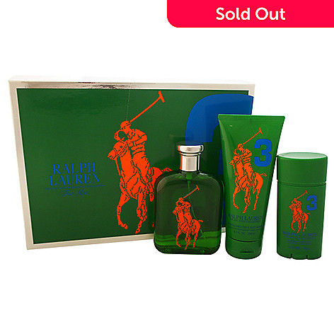 594d1569c3 The Big Pony Fragrance Collection #3 for Men by Ralph Lauren Three-Piece  Gift Set