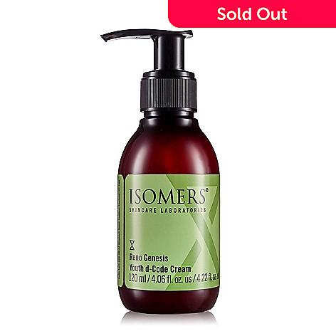 312-841- ISOMERS Skincare Bonus Size Reno Genesis Youth d-Code Cream 4.06 oz
