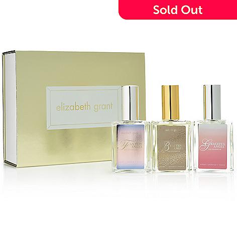 Elizabeth Grant 3 Piece Angel Eau De Parfum Collection 09 Oz Each W