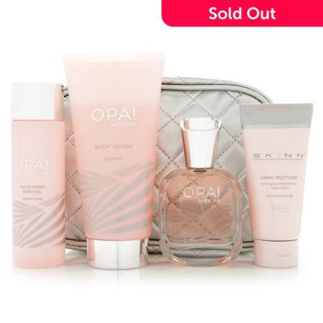 Skinn Cosmetics, 4-Piece Opa!, Eau de Parfum &, Body Set w/ Cosmetic Bag