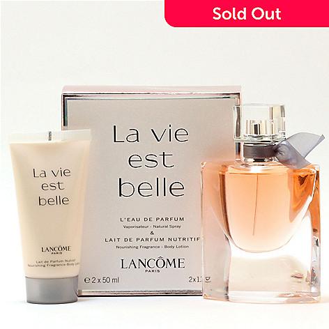 Lancome La Vie Est Belle Eau De Parfum Body Lotion Set Evine