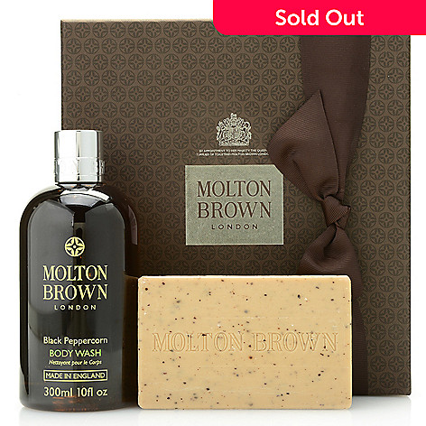 95fe03890106 Molton Brown 2-Piece Re-Charge Black Peppercorn Body Wash   Scrub ...