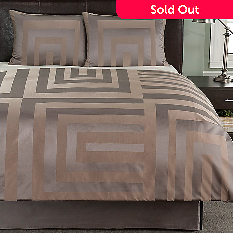 401 893 Macy S Hotel Collection Columns Three Piece Duvet Set