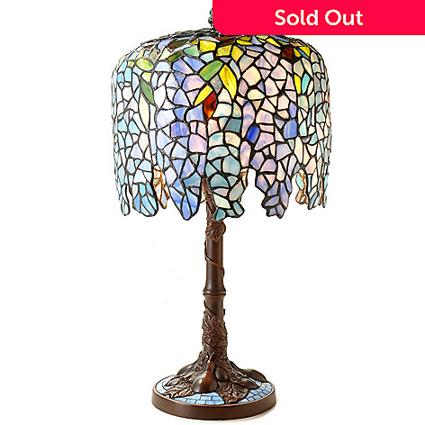Louis comfort tiffany reproduction wisteria table lamp evine 404 734 louis comfort tiffany reproduction wisteria table lamp aloadofball Choice Image