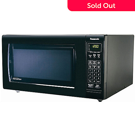 407 946 Panasonic Nnh765bf 1 6 Cu Ft 1250w Microwave Oven