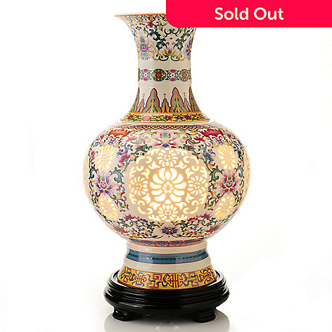 home goods decorative vases.htm style at home with margie 16  ceramic imperial vase table lamp  ceramic imperial vase table lamp