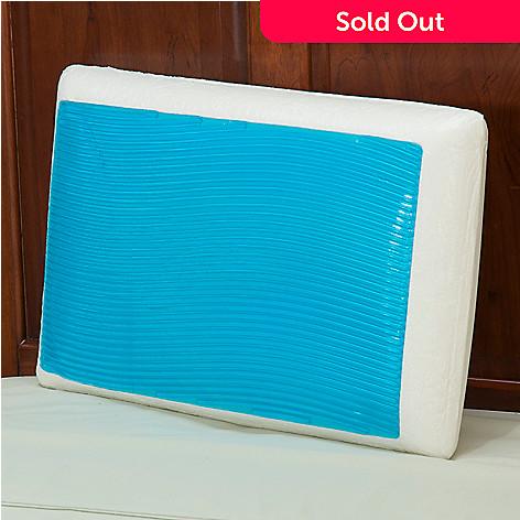 430 300 comfort revolution hydraluxe gel wave design memory foam pillow - Comfort Revolution Pillow