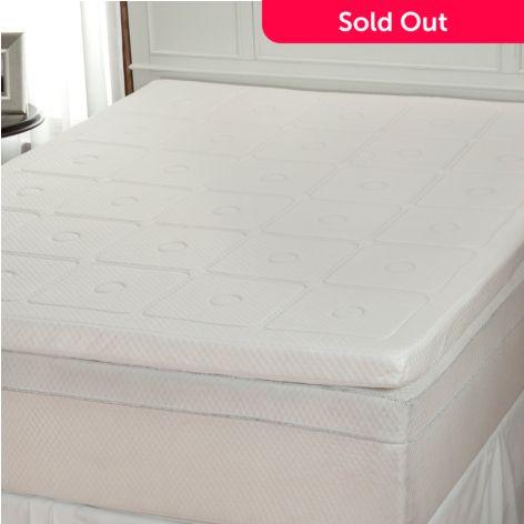 Sensorpedic Luxury Extraordinaire 300gsm Memory Foam Mattress Topper