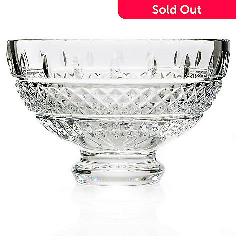 Waterford Crystal 6 Irish Lace Footed Bowl Evine