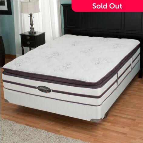 Simmons Beautyrest Elite Weverton Plush Pillowtop Mattress Set