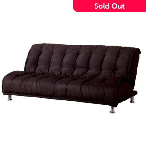 Superb Furniture Of America Seaside Micro Futon Sofa W Extra Support Legs Theyellowbook Wood Chair Design Ideas Theyellowbookinfo