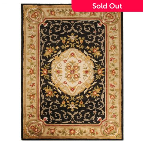 Bashian Rugs Aubusson Style Hand Tufted 100 Wool Rug Evine