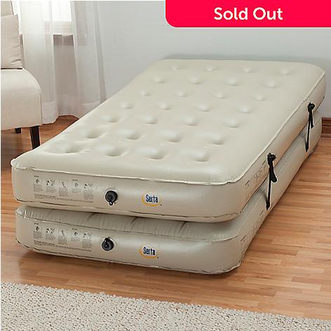 434 663 Serta Perfect Sleeper 3 In 1 Air Mattress W