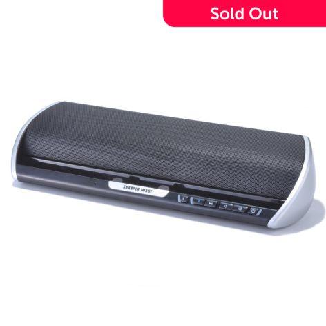 The Sharper Image Portable Wireless Bluetooth Speaker W Hands Free