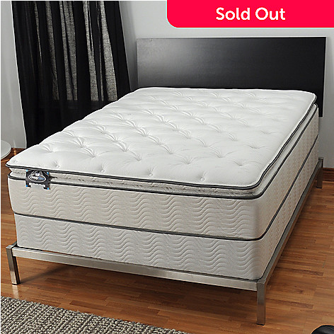 436 096 Simmons BeautySleepR Manhattan Plush Pillowtop Mattress Set