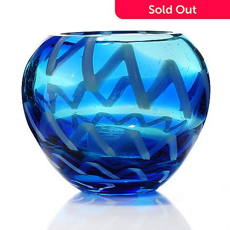 Evolution By Waterford Cobalt Rush 45 Glass Votive Evine
