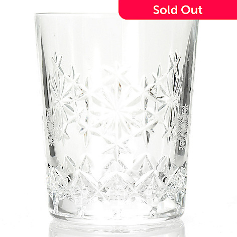 c54b2e480479 439-936- Waterford Crystal Snowflake Wishes Goodwill Kerry 10 oz Double Old  Fashioned Glass