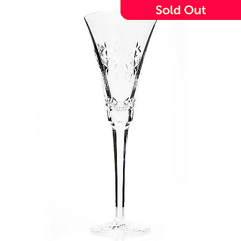 e865c7e62889 439-937- Waterford Crystal Snowflake Wishes Goodwill Kerry 8 oz Flute