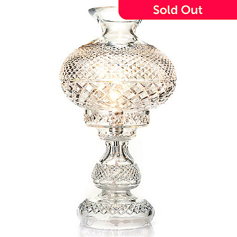 Waterford crystal inishmore 19 diamond cut table lamp 440 175 waterford crystal inishmore 19 diamond cut table lamp aloadofball Image collections