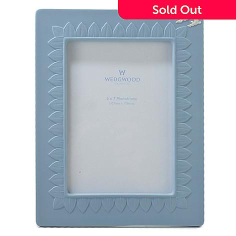 Wedgwood 5 X 7 Jasperware Blue Frame Signed By Lord Wedgwood Evine