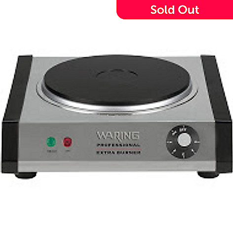 440 853 Waring Pro Professional 1300w Single Countertop Burner