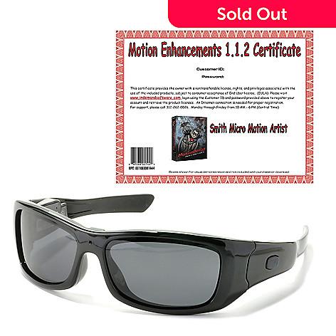 50135ff083 441-803- VidVision Polarized Sport Sunglasses w  Built-in 720p HD Video