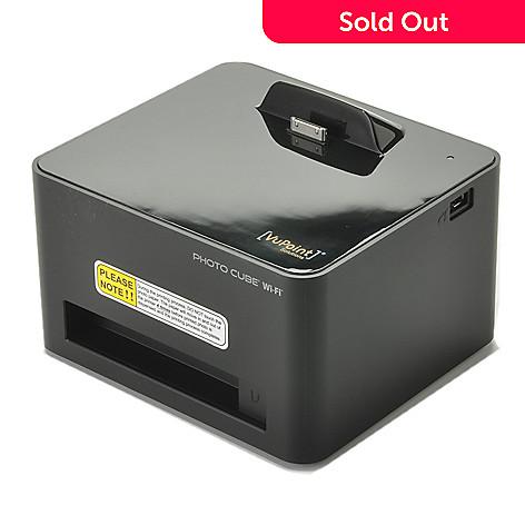 Photo Cube Wi Fi Compact Photo Printer W Usb Port Evine