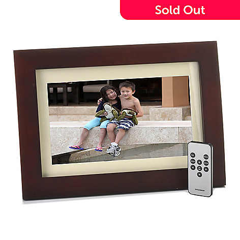 Sylvania 10 Multi Media Photo Frame W Remote Control Frame Stand