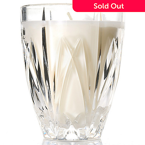 Marquis By Waterford Brookside Crystal 55 Hurricane Vase W Candle