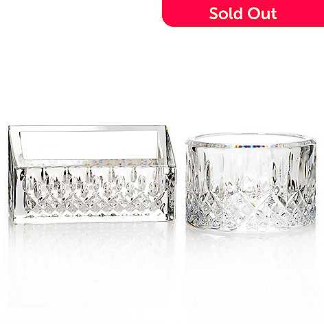Waterford crystal lismore essence two piece desk tray business 442 435 waterford crystal lismore essence two piece desk tray business card colourmoves