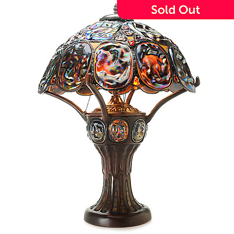 Tiffany style 27 turtle back double lit stained glass table lamp 443 649 tiffany style 27 turtle back double lit stained glass table aloadofball Choice Image