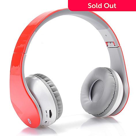 ddcc4da58f2 447-763- iLive Bluetooth Wireless Foldable Headphones w/ Built-in Mic &