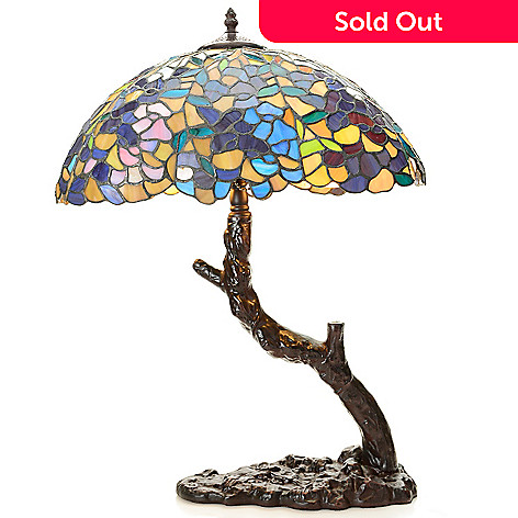 Tiffany style 24 tree wisteria stained glass table lamp evine 448 392 tiffany style 24 tree wisteria stained glass table lamp mozeypictures Image collections