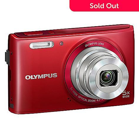 e75563a722 449-455- Olympus Stylus 16MP Compact Digital Camera w  26mm Wide Angle Zoom